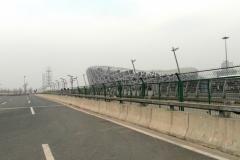 Поехали смотреть олимпийский стадион. Оцените опять дорогу