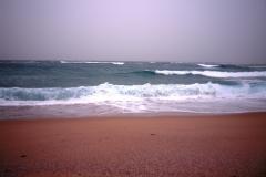 Море разбушевалось