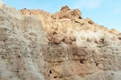 Скалы все время разной структуры