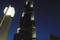 Башня вечером