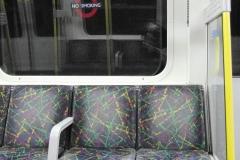 В метро. Мягкие приятные стульчики...