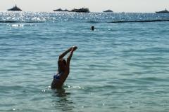 Пляж тоже опробовали, искупались, все отлично