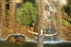 Искусственный водопад. Красота невероятная