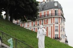Живые статуи на Монмартре