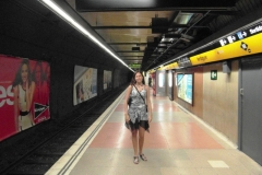 Что за привычка фоткаться в пустом метро? Ну раз уж есть, выложу