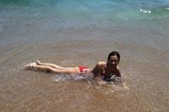 Добралась до моря!