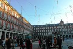 В Мадриде много площадей