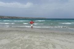 На пляже. Хорошо и пусто