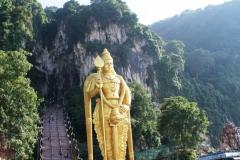 Статуя божества Муругана, высота 43 метра