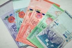 Местные деньги - малайзийские ринггиты