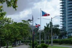 Аллея с флагами