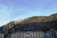 И снова горы и отель