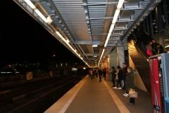 Часть платформ в метро открытые