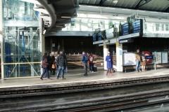 Есть и открытые станции метро