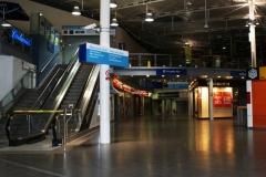 Вокзал ночью. Пустота