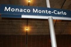 На вокзале в Монако