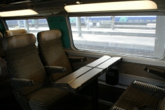 Очень удобные поезда (уезжаем в Ниццу)