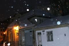 Настоящая зима... Первая за поездку