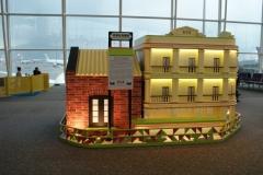 Прелестные домики в аэропорту