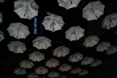 Зонтики висят