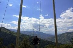 Эквадор, качели