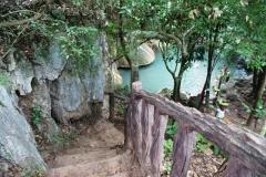 Водопад Эраван в Таиланде