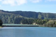 Голубое и Зеленое озера в Португалии