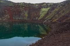 Исландия, кратерное озеро Kerið