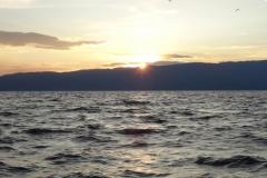 На закате особенно красиво