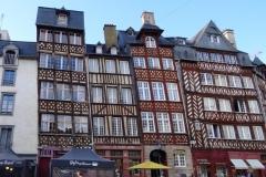 Старые здания Ренна