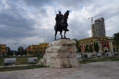 Памятник Скандебергу