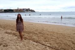 Пляж в Хихоне