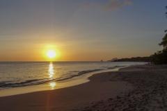 Закат на Мартинике