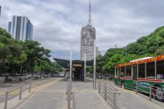 Транспортный узел в центре