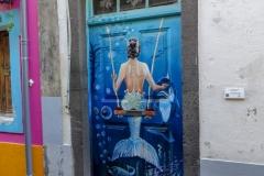Необычные двери в Фуншале