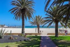 Парк около пляжа