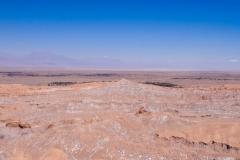 Долина Луны в пустыне Атакама