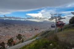 Ла-Пас. Вид сверху