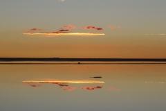 Уюни на закате