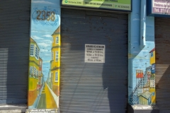Граффити в Вальпараисо