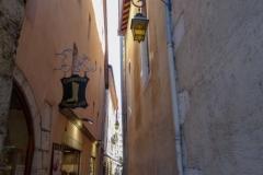 Старые улицы и достопримечательности Анси