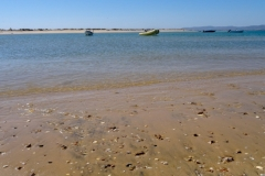 Пляж на острове Deserta