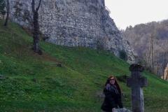 У подножья замка Бран
