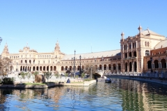 Испания, Plaza de España в Севилье