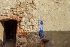 Рисунки на стенах цитадели