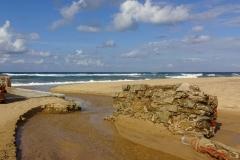 Пляж Piscinas на Сардинии