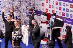 Александра Степанова / Иван Букин после произвольного танца