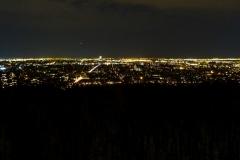 Вечерний вид на Монреаль