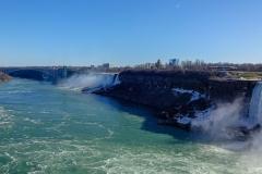 Радужный мост и Американский водопад