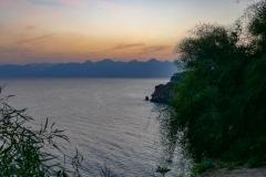 Закат. Вид из Дюденского парка